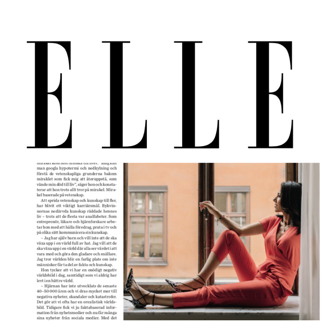 Dr.Mouna - Dr. Mouna in a video interview with ELLE magazine