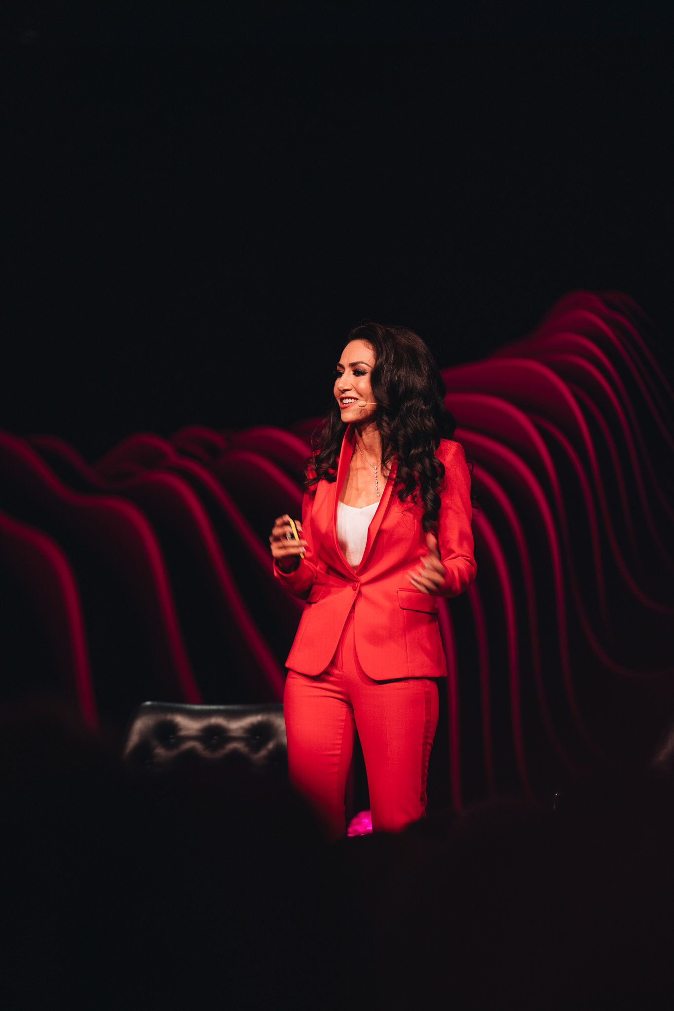 Dr.Mouna - Dr. Mouna one of the speakers and moderators at Brilliant Minds 2019