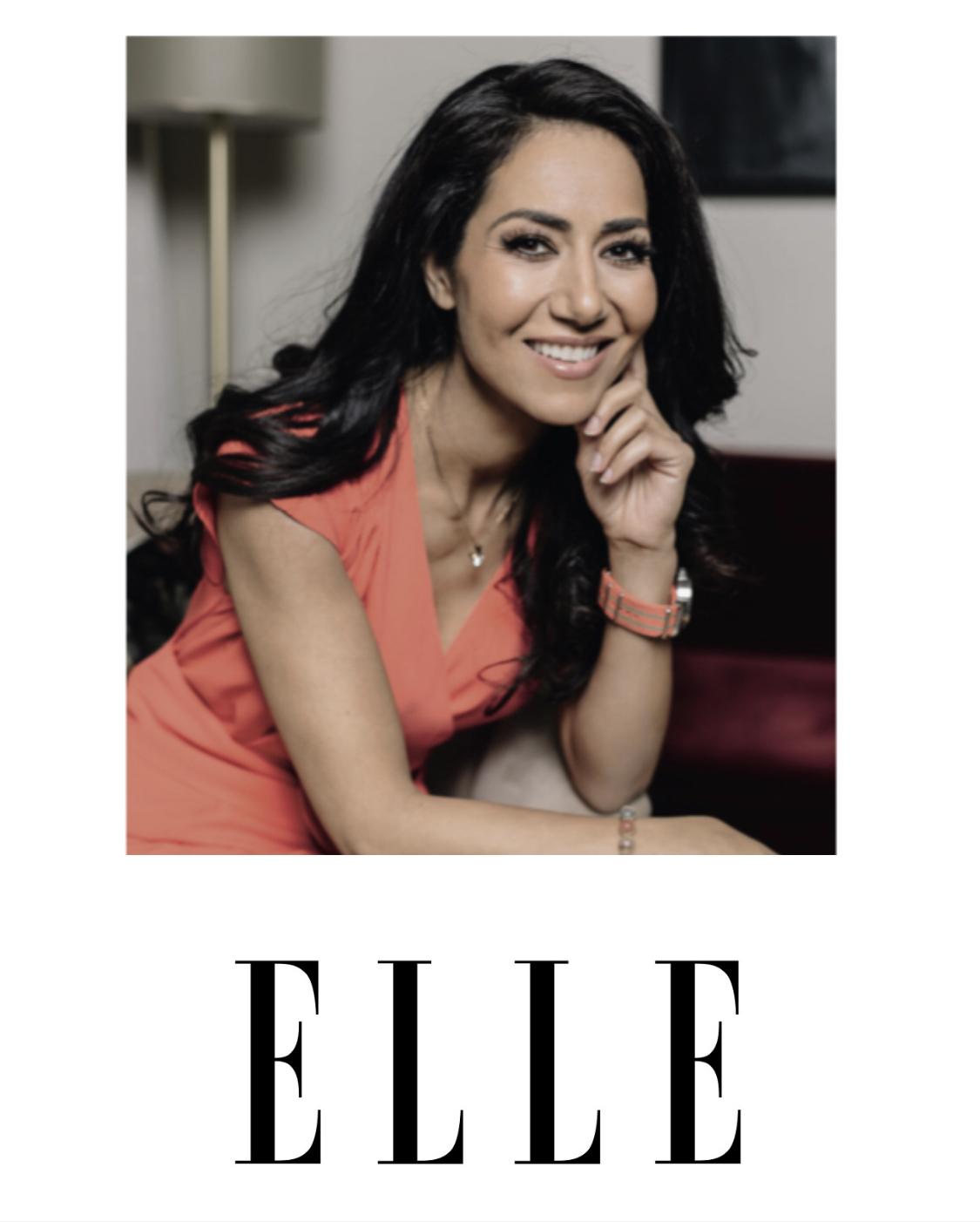 Dr.Mouna - Dr. Mouna in ELLE Magazine